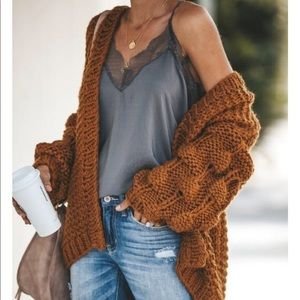 Out of stock Vici chunky knit cardigan